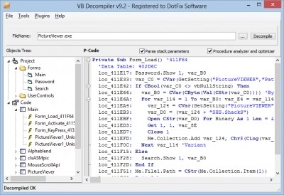 VB Decompiler 10 5 review and download