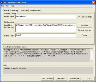 VB Documentation Tool 1.5.0 screenshot
