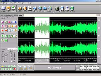 VCTEA Audio Editor X 1.4.0 screenshot