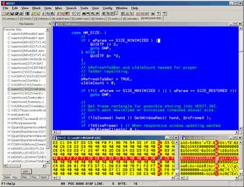 VEDIT 6.13.1 screenshot