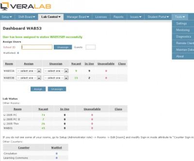 VeraLab 6.1 screenshot