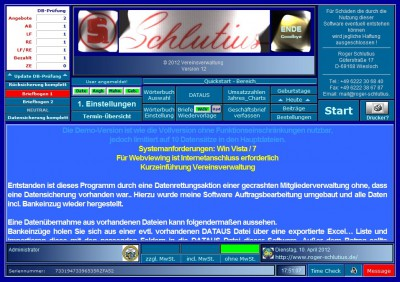 Verein 12 screenshot