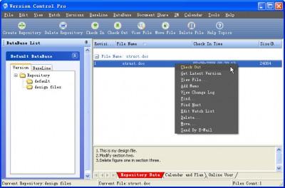 Version Control Pro 4.7 screenshot