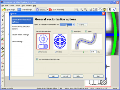 Vextractor 6.92 screenshot