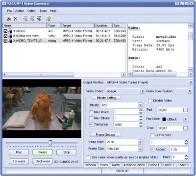 VFC CONVERT TO MP4 2011.1105 screenshot