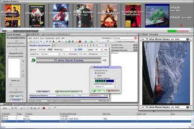 VidEd -- Videoverwaltung m. Etikettendr. 6.14 screenshot