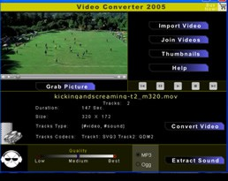 Video Converter 2005 1.8 screenshot