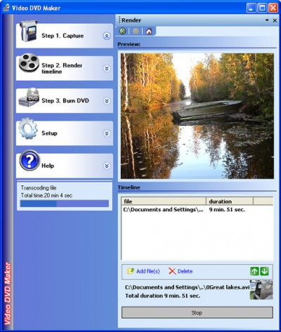 Video DVD Maker Free 3.32.0.80 screenshot