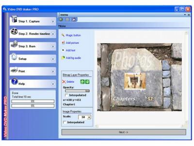 Video DVD Maker PRO 3.24.0.64 screenshot