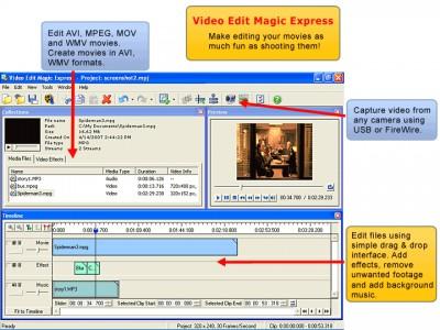 Video Edit Magic Express 4.11 screenshot