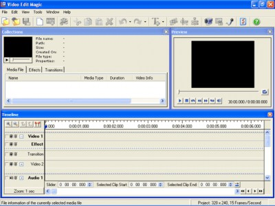 Video Edit Magic 4.47 screenshot