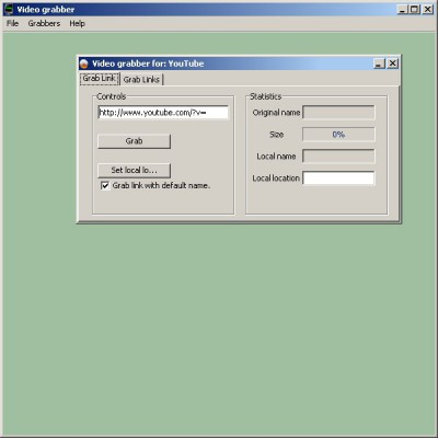 Video Grabber 1.5.2 screenshot