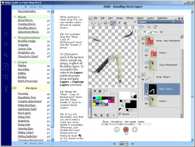 Video Guide to Paint Shop Pro 1.1 screenshot