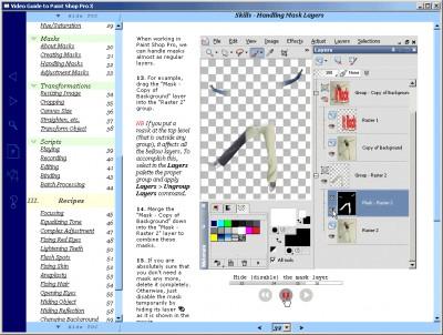 Video Guide to Paint Shop Pro 1.1 screenshot