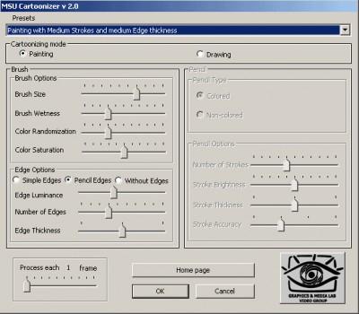 Video MSU Cartoonizer VirtualDub plugin 1.0 screenshot