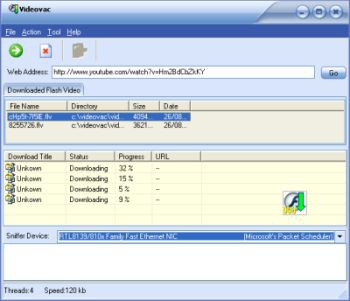 Videovac 1.6 b52 screenshot
