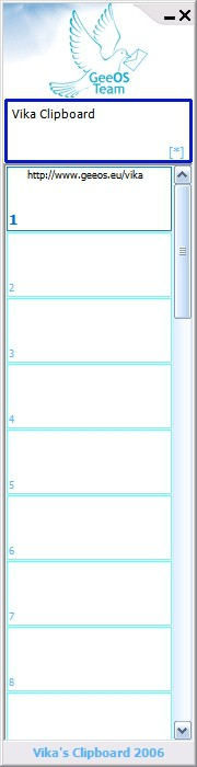Vika Clipboard 1.0.51.0 screenshot