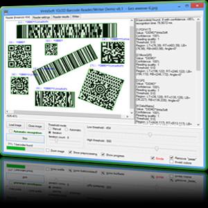 VintaSoft Barcode .NET SDK 12.4.1.1 screenshot