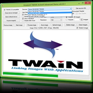 VintaSoft Twain ActiveX Control 6.0.16.1 screenshot