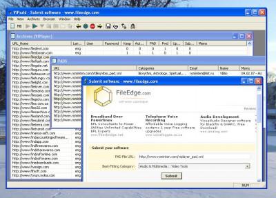 VIPadd 1.0 screenshot