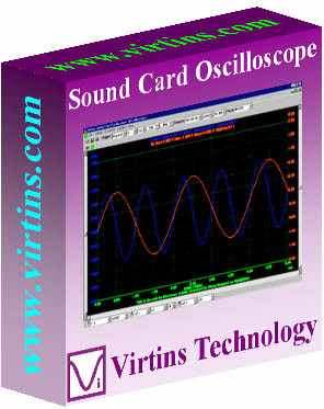 Virtins Sound Card Oscilloscope 3.7 screenshot