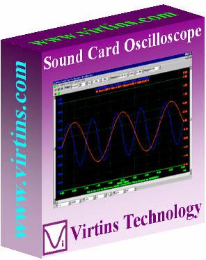 Virtins Sound Card Oscilloscope 3.9 screenshot