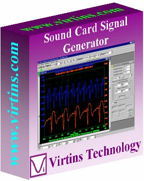 Virtins Sound Card Signal Generator 2.0 screenshot