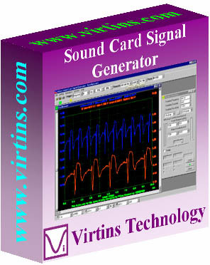 Virtins Sound Card Signal Generator 3.7 screenshot