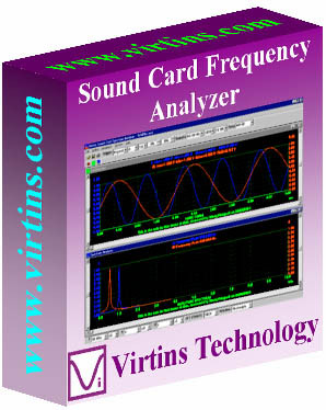 Virtins Sound Card Spectrum Analyzer 3.7 screenshot