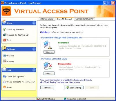 Virtual Access Point 8.8 screenshot