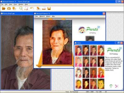 Virtual Painter 5 screenshot
