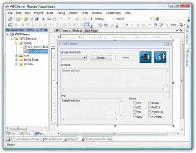 Virtual Serial Port Control 3.5 screenshot