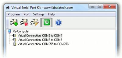 Virtual Serial Port Kit 5.8 screenshot