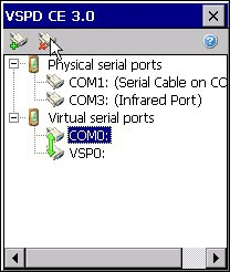 Virtual Serial Ports Driver CE 3.2 screenshot