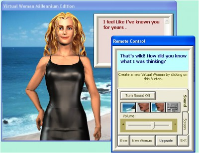 Virtual Woman Millennium Beta Test .95391 screenshot