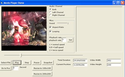 VISCOM Video Player Pro ActiveX 9.6 screenshot