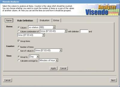 Visendo Analyzer Professional 1.0 screenshot