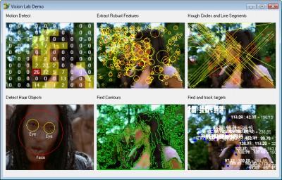 VisionLab .NET 8.0 screenshot