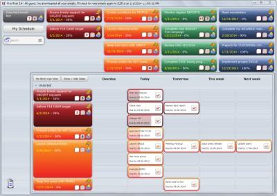 VisioTask Free Task Management Software 2.1.0 screenshot