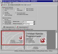 Visitenkarten-Designer 3.5 screenshot