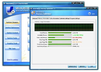 Vista System Optimizer 7.87 screenshot