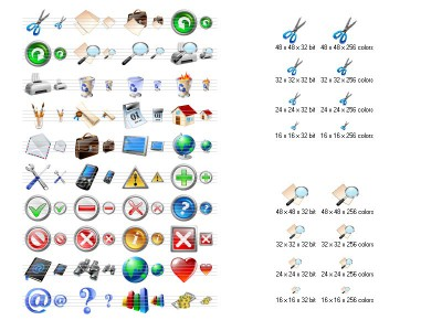 Vista Toolbar Icons 2013.2 screenshot