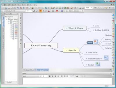 Visual Mind 11.0 screenshot
