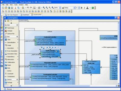 Visual Paradigm for UML Community 8.0 screenshot