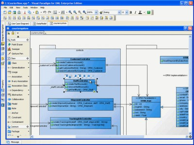Visual Paradigm for UML Standard 8.0 screenshot