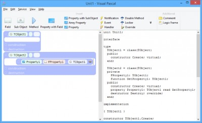 Visual Pascal 1.32 screenshot