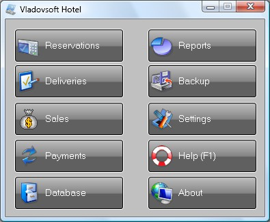 Vladovsoft Hotel 5.0.1 screenshot