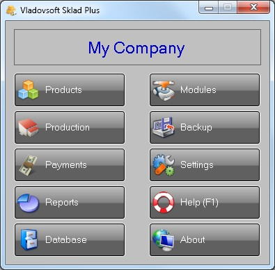 Vladovsoft Sklad 5.4.0 screenshot