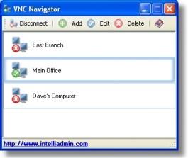 VNC Navigator 2.0 screenshot