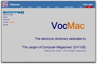 VocMac 2009 (WIN) 09_03 screenshot